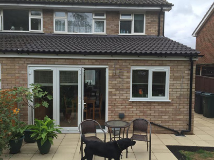 Rear House Extension By our Builders Ashford Kent